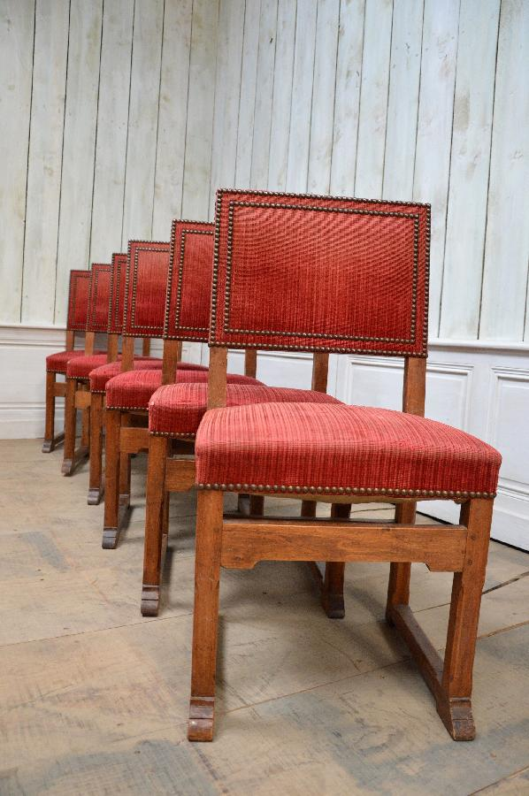 set of 6 spanish chairs FAE295