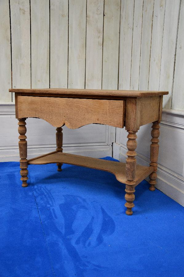 rustic raw oak table FAE485