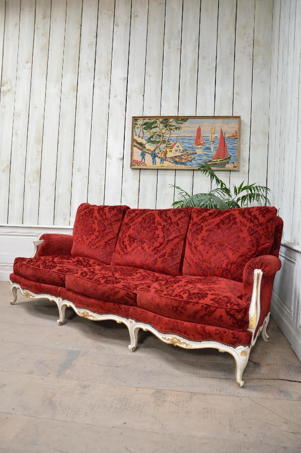 french antique sofa louis xv style FAE382