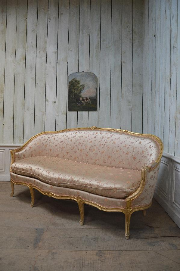 large painted settee FAE299