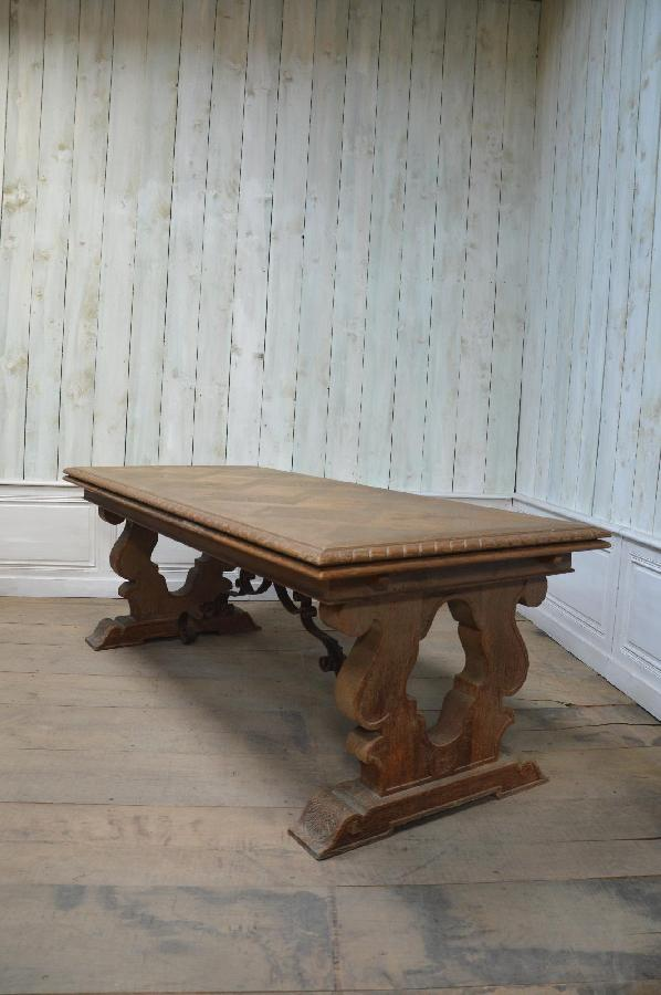 a great bleached french dining table FAE56