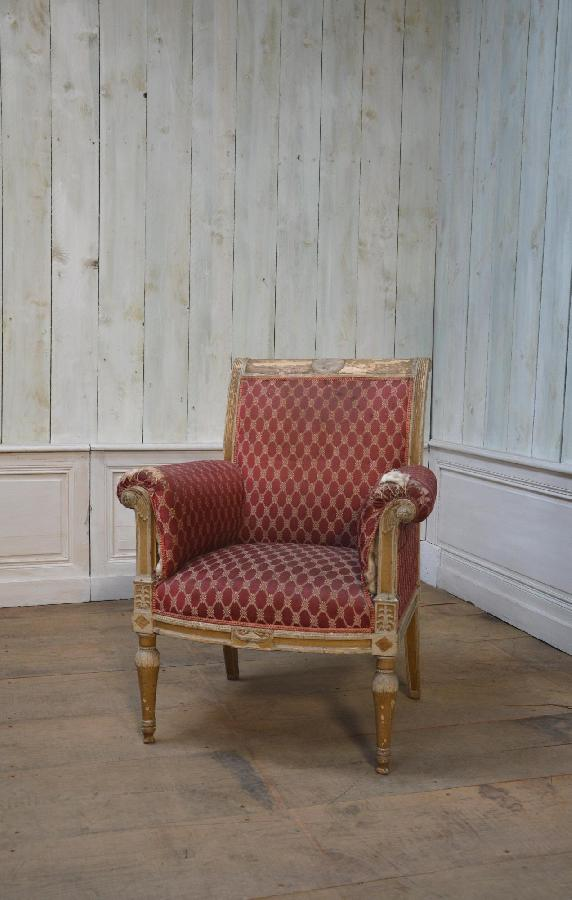 fauteuil style directoire FAE47