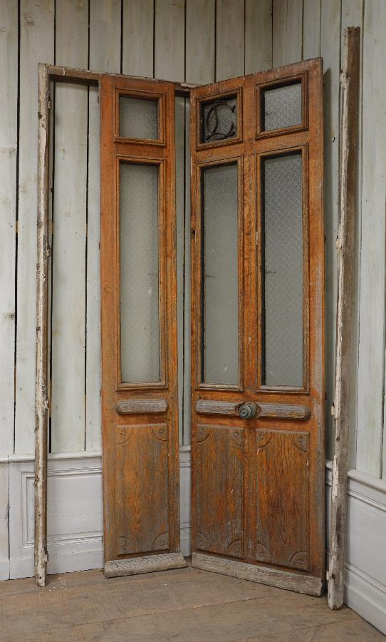 french antique double doors FAE476