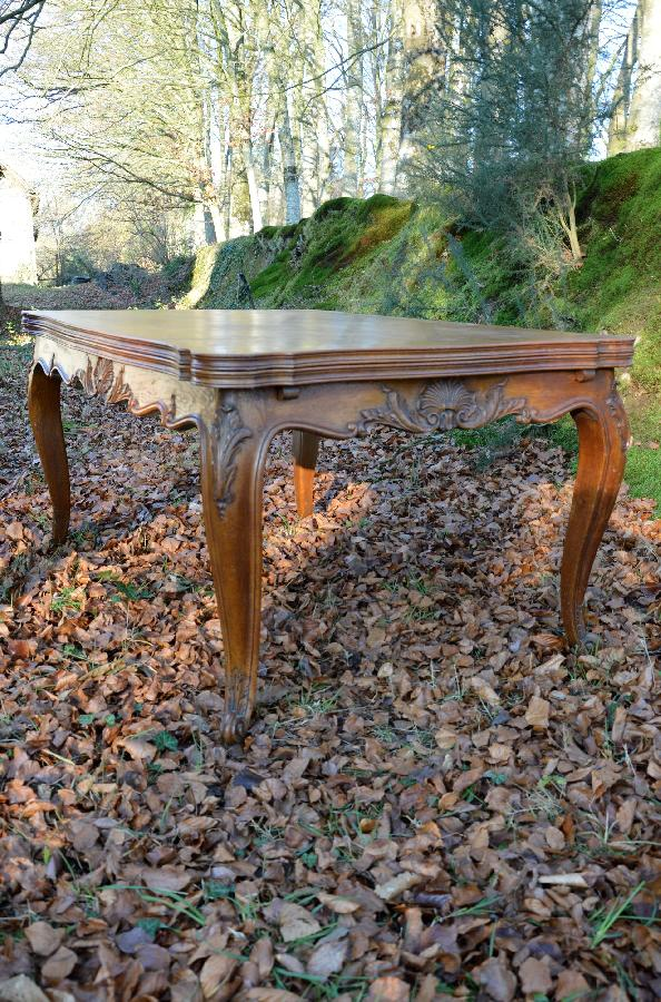 oak dining table louis xv style FAE522