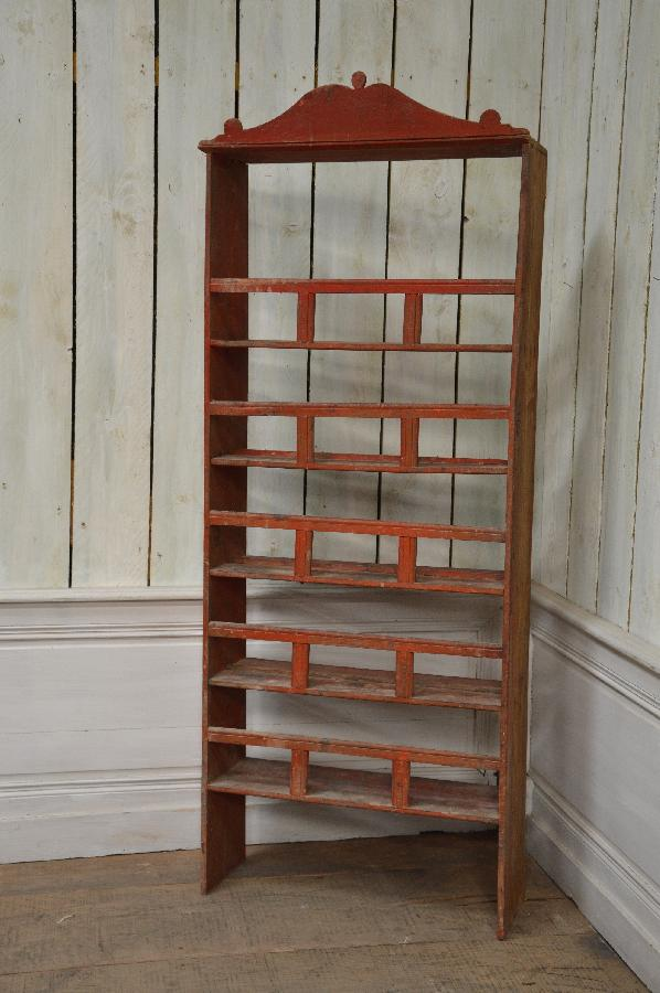 small painted bookcase FAE474