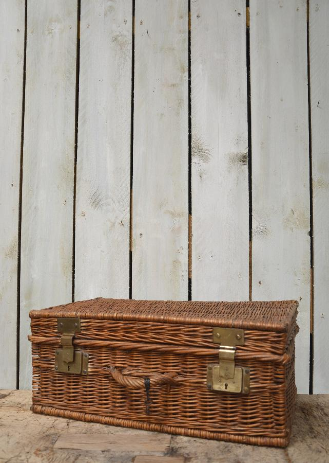 wicker basket with handle FAE278